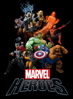 Marvel Heroes film Poster