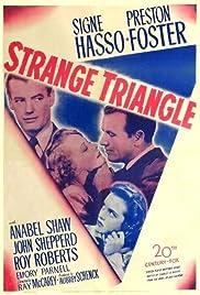 Strange Triangle Poster