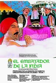 El embajador de la India Poster