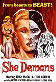 She Demons (1958) Poster - Movie Forum, Cast, Reviews