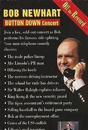 Bob Newhart: Button Down Concert Poster