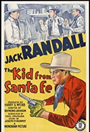 The Kid from Santa Fe Poster