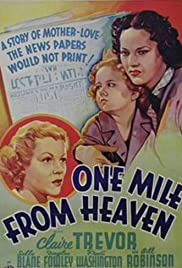 One Mile from Heaven Poster