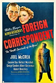 Foreign Correspondent (1940) Poster - Movie Forum, Cast, Reviews