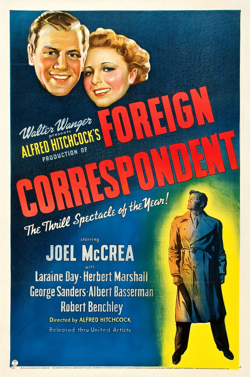 image Foreign Correspondent Watch Full Movie Free Online