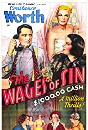 The Wages of Sin Poster