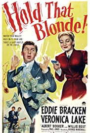Hold That Blonde! Poster