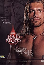 WWE Bad Blood Poster