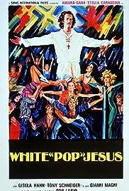White Pop Jesus Poster