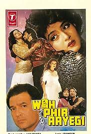 Woh Phir Aayegi Poster