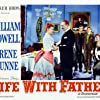 William Powell, Irene Dunne, Johnny Calkins, Jimmy Lydon, Martin Milner, and Derek Scott in Life with Father (1947)