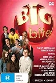Big Bite Takes on TV Poster