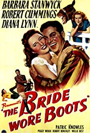 The Bride Wore Boots (1946) Poster - Movie Forum, Cast, Reviews