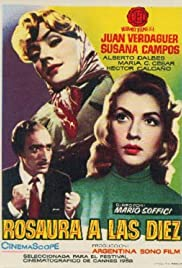 Rosaura a las 10 (1958) Poster - Movie Forum, Cast, Reviews