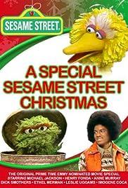 A Special Sesame Street Christmas Poster