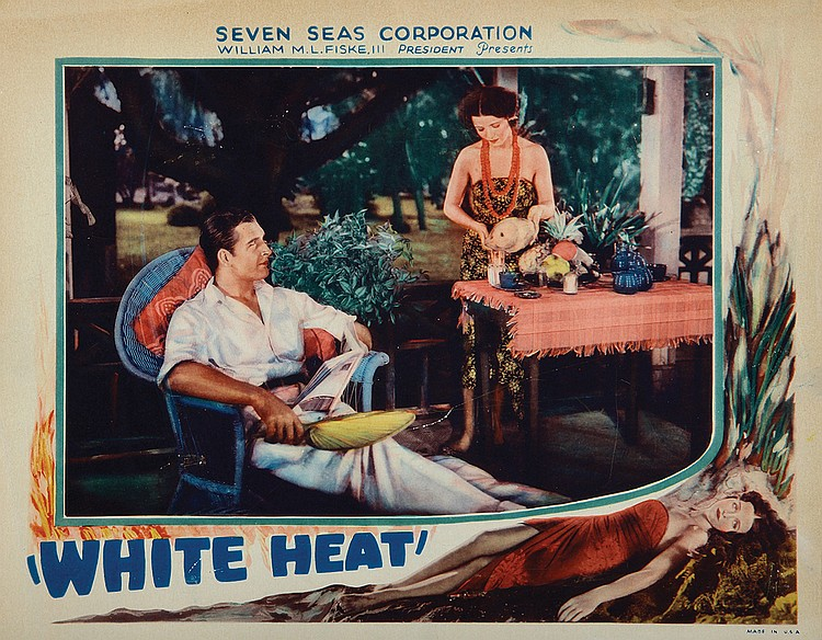 Mona Maris and David Newell in White Heat (1934)