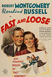 Fast and Loose (1939) Poster - Movie Forum, Cast, Reviews