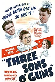 Three Sons o' Guns Poster