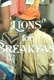 Lions for Breakfast Poster