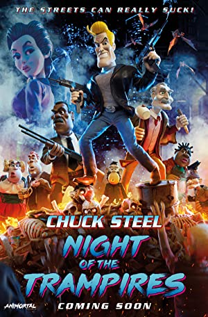 Chuck Steel : Night of the Trampires Poster