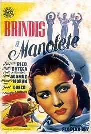 Brindis a Manolete Poster