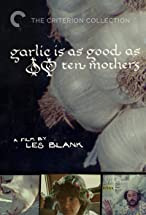 Primary image for Garlic Is as Good as Ten Mothers