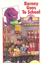 Barney Goes to School Poster