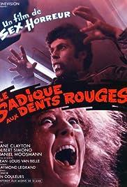 Le sadique aux dents rouges Poster