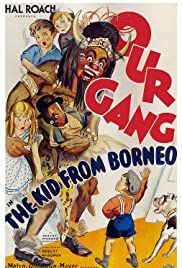 The Kid from Borneo Poster
