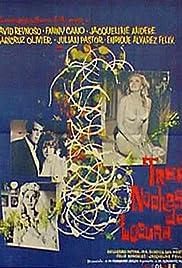 Tres noches de locura Poster