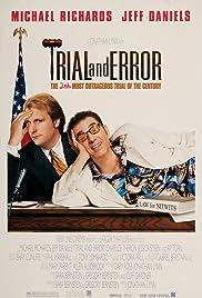 Trial and Error(1997) Poster - Movie Forum, Cast, Reviews