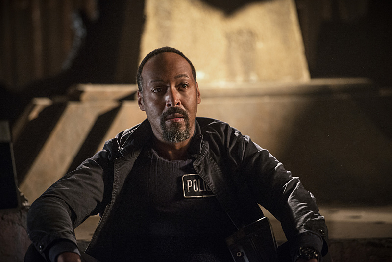 "Jesse L. Martin as Joe West in ""Killer Frost"" (Photo Credit: Tumblr)"