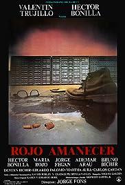 Rojo amanecer Poster