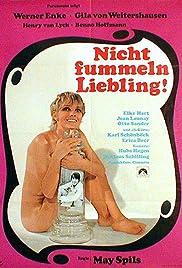 Nicht fummeln, Liebling! Poster