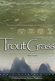 Trout Grass Poster