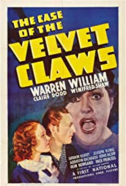 The Case of the Velvet Claws (1936) Poster - Movie Forum, Cast, Reviews