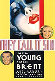 They Call It Sin (1932) Poster - Movie Forum, Cast, Reviews