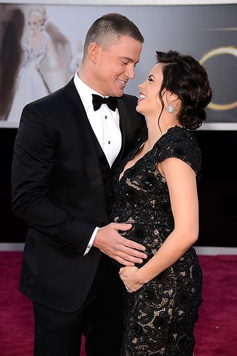 Channing Tatum and Jenna Dewan Tatum at The 85th Annual Academy Awards (2013)