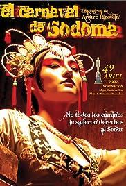 El carnaval de Sodoma Poster