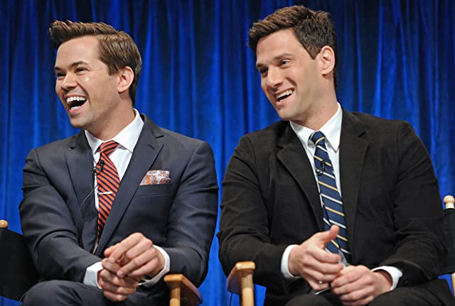 Justin Bartha and Andrew Rannells at The New Normal (2012)