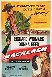 Backlash (1956) Poster - Movie Forum, Cast, Reviews