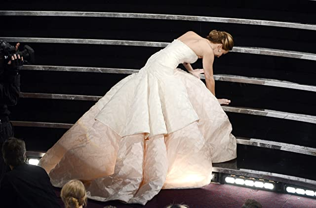 Jennifer Lawrence at an event for The 85th Annual Academy Awards (2013)