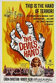 The Devil's Hand(1961) Poster - Movie Forum, Cast, Reviews