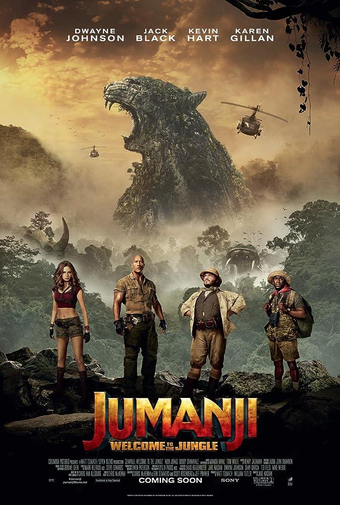 Jumanji : Welcome to the Jungle