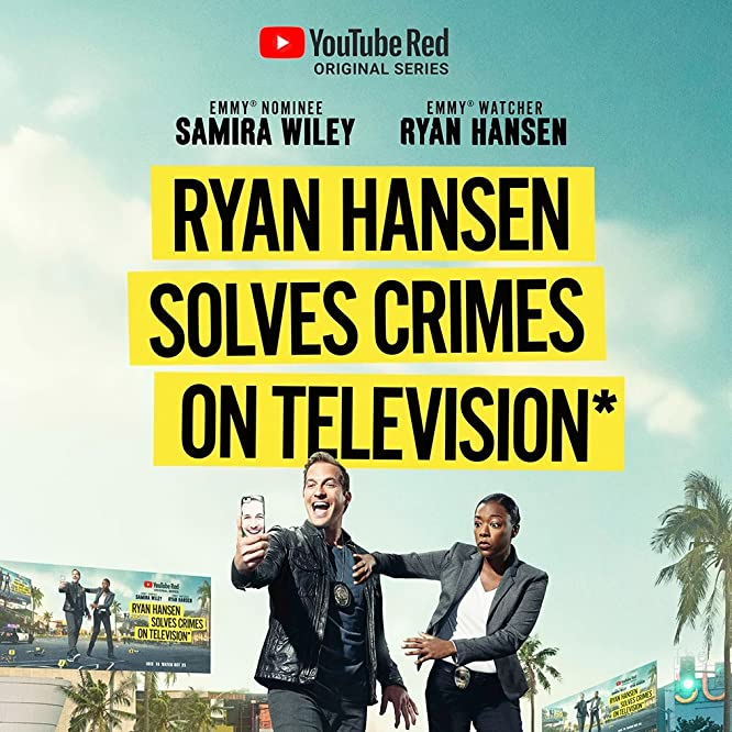 Ryan Hansen and Samira Wiley in Ryan Hansen Solves Crimes on Television (2017)