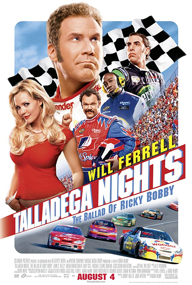 Rikis Bobis: Greičiausio kvailio legenda / Talladega Nights: The Ballad of Ricky Bobby (2006)