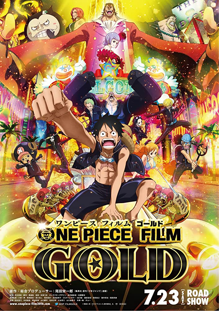 One Piece Film Gold 2016 Japanese 720p BluRay 700MB