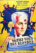 Image of Méfiez-vous des blondes