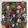 Samuel L. Jackson, Robert Downey Jr., Clark Gregg, Chris Evans, Scarlett Johansson, Jeremy Renner, Mark Ruffalo, Cobie Smulders, and Chris Hemsworth in The Avengers (2012)