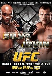 UFC: Silva vs. Irvin Poster